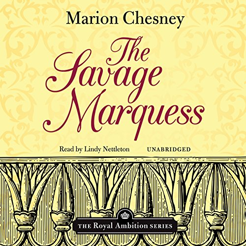 The Savage Marquess audiobook cover art