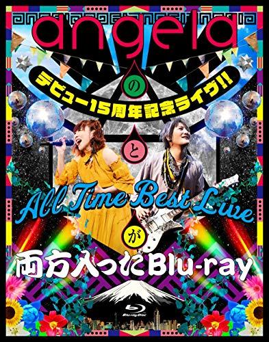 [画像:【Amazon.co.jp限定】angelaのデビュー15周年記念ライヴ!!とAll Time Best Liveが両方入ったBlu-ray(オリジナルデカジャケ+メーカー多売:ポストカード付)]