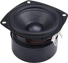 DROK 15W Mini 3 Inches HiFi Full Range Speaker 4 Ohm Anti-Magnetic Audio 2.0 2.1 Home Stereo Woofer Loudspeaker 90dB High Sensitivity for DIY Boombox Satellites Speaker