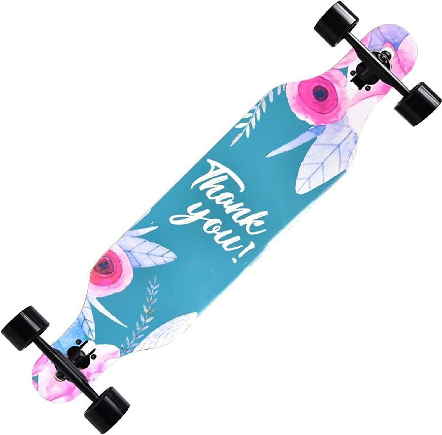 MTDHKX Limited time for free shipping Longboard Skateboard 42 inch Complete San Francisco Mall Through Deck M Drop