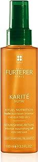 Rene Furterer KARITE NUTRI Intense Nourishing Oil, Pre-Shampoo Treatment, Very Dry Damaged Hair, 3.3 oz.