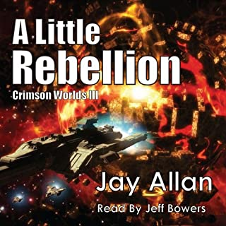 A Little Rebellion audiobook cover art