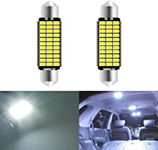 SUMOZO C5W Bombilla LED Festoon Bombillas LED Canbus sin errores 18SMD 3014 para interior de coche domo mapa puerta matr/ícula Bombillas 6000K Xenon Blanco Pack de 4 31MM