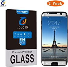 Galaxy S7 Edge Tempered Glass Screen Protector [Case Friendly], JOLOJO [9H Hardness] Scratch Proof [Ultra Clear] High Response [Bubble Free] (3D Coverage) Glass Protector for Galaxy S7 Edge - Silver