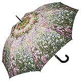 Von LILIENFELD Paraguas Automática Mujer Motivo Floral Arte Claude Monet: El jardín