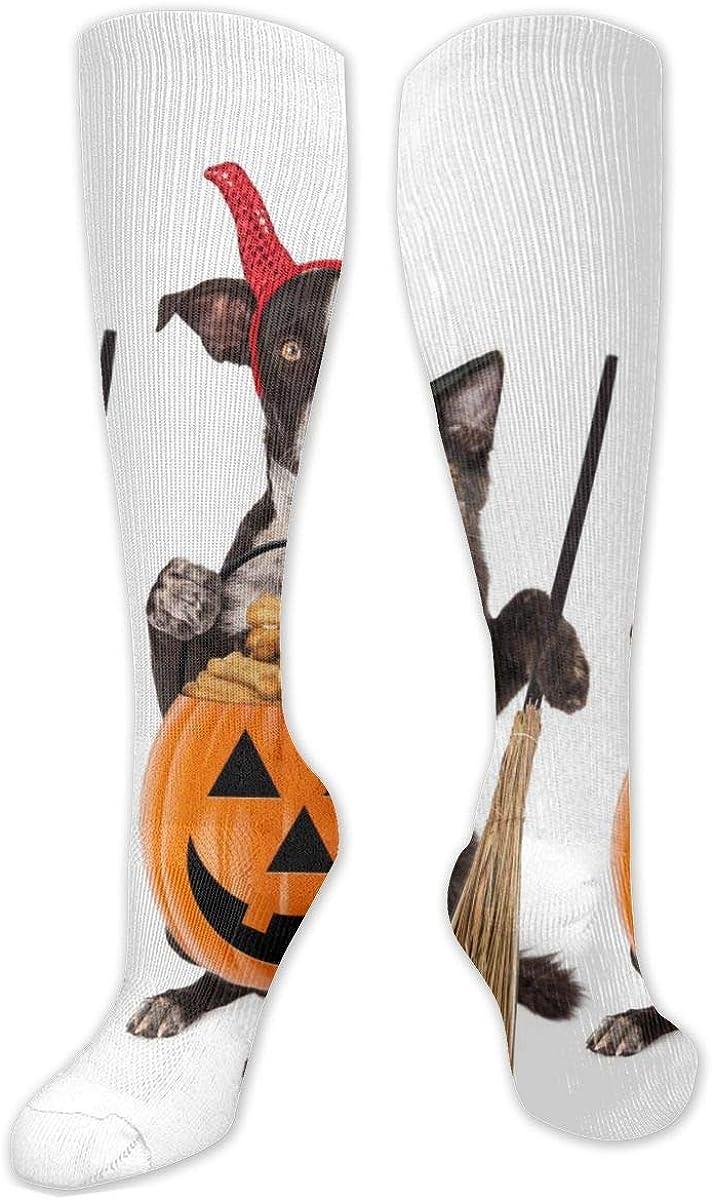 Halloween Pet Knee High Socks Leg Warmer Dresses Long Boot Stockings For Womens Cosplay Daily Wear