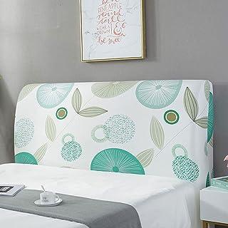NHK-MX 360 ° Todo Incluido Funda de cabecero de Cama Protectora de Cabeceros de Cama elástica y a Prueba de Polvo decoración de Dormitorio (Color : 24, Size : 2.2m)
