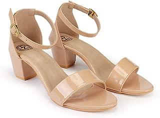 DEEANNE LONDON Women's Single Strap Block Heels… …
