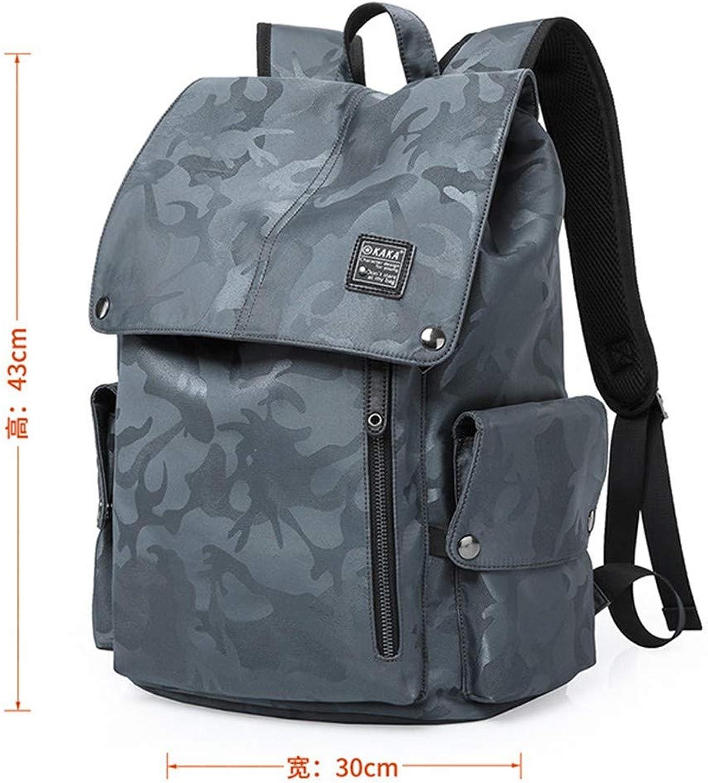 Camperlage-Studententasche des Rucksackmnner-Modetrends einfache Freizeitreisetasche des Rucksacks des Mannes mnnlicher