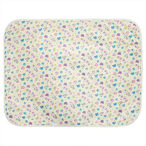 Pasgeborenen katoenen luier pad waterdicht gewatteerde urine matras zuigelingen baby wieg beddengoed candy