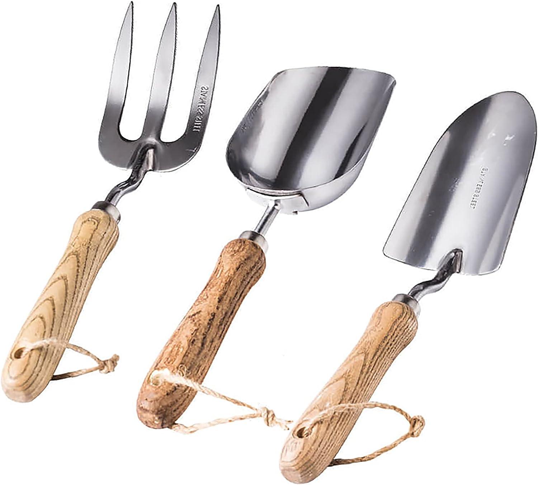 Seepoo Garden Tool Over item handling Super sale period limited Set Stainless Gardening Steel Heavy Duty Kit