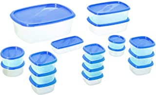 Princeware Sf Packg. Container Set Of 18 Pieces - Blue