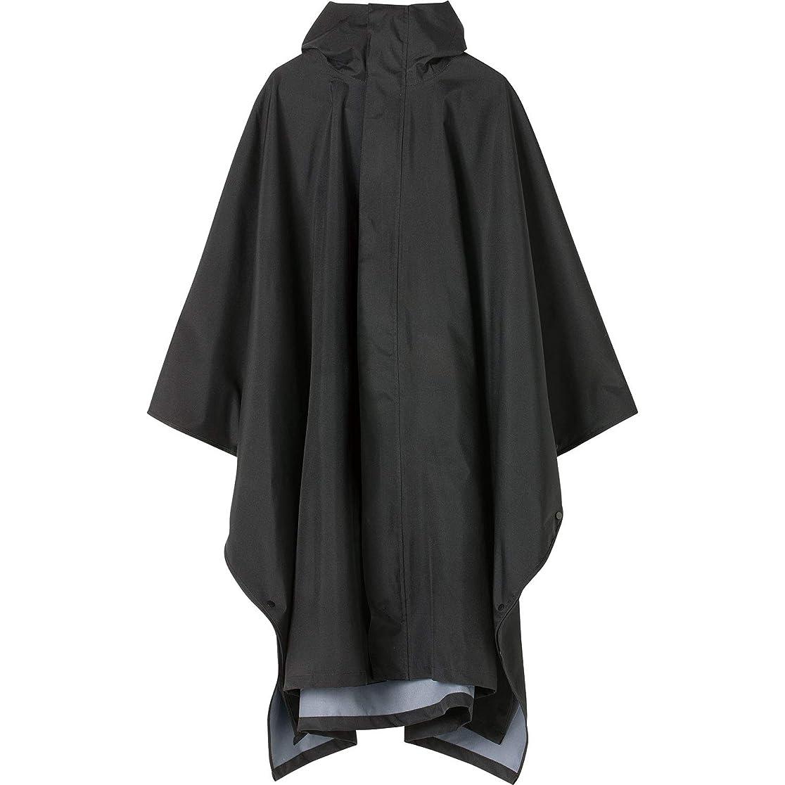 クリエイティブ病気忘れっぽいワールドパーティー(Wpc.) キウ(KiU) レインポンチョ ブラック cm [KiU RAIN PONCHO MIGHTY] K104-900