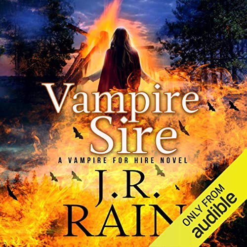 Vampire Sire audiobook cover art