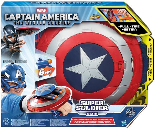 Marvel Avengers Captain America transformant Dart Shield