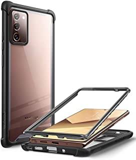 i-Blason Ares Clear Case for Galaxy Note 20 5G 6.7 inch (2020 Release), Dual Layer Rugged Clear Bumper Case Without Built-...