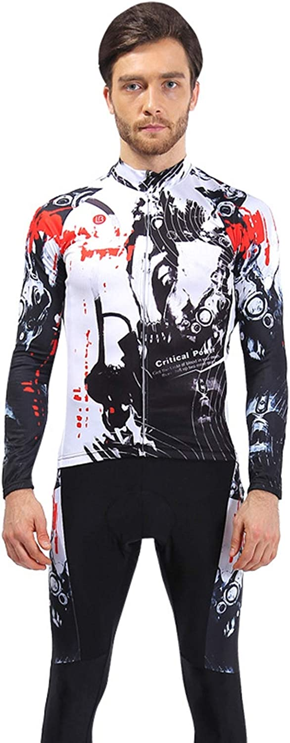 AmDxD Men's Jersey Cycling Set Spring Summer Breathable Sports Clothing
