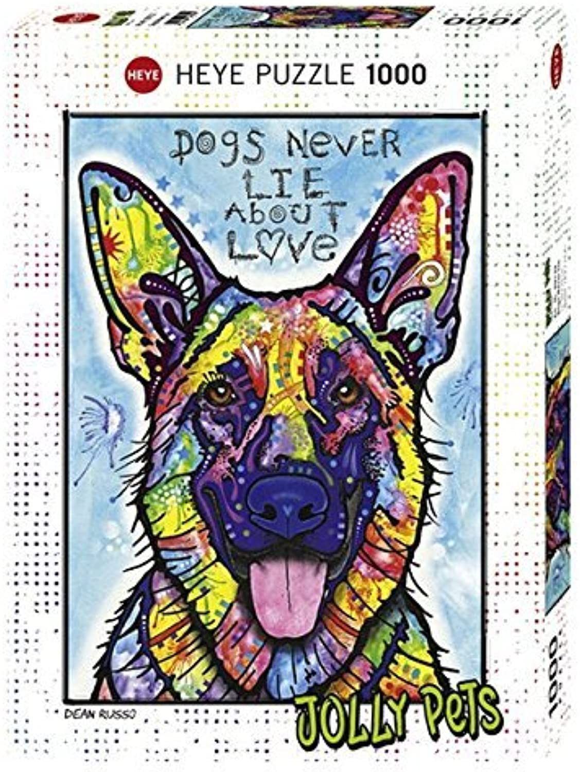 Heye Dogs Never Lie Puzzles (1000Piece, MultiColour) by Heye