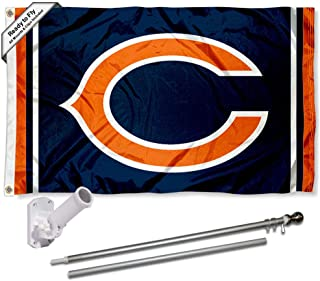 WinCraft Chicago Bears Flag Pole and Bracket Kit