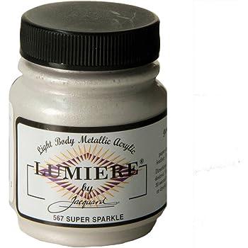 Jacquard Products Lumiere Metallic Acrylic Paint 2.25-Ounce, Super Sparkle