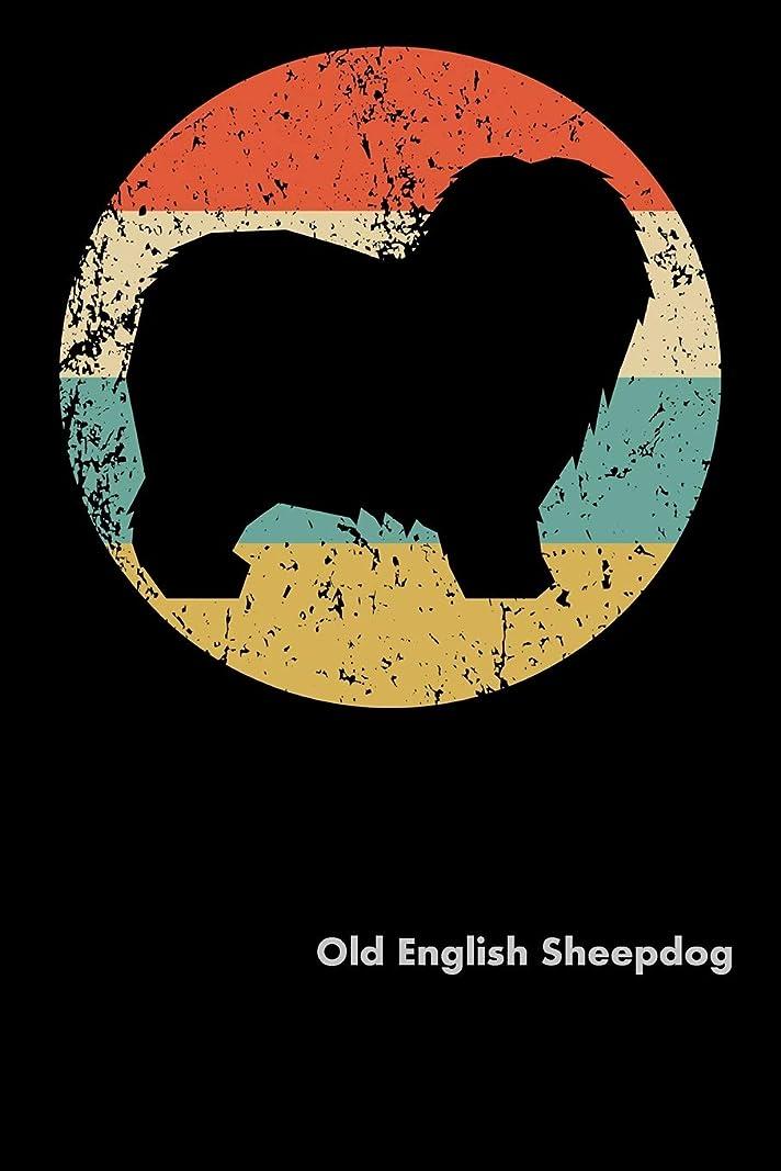 航海光景風景Old English Sheepdog: Fun Diary for Dog Owners with dog stationary paper, cute dog illustrations, and more