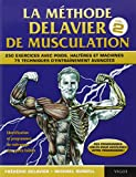 Livre La méthode de musculation de Frédéric Delavier