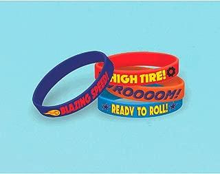 Amscan 396851 Blaze & The Monster Machines Rubber Bracelet, Party Favor, 36 Ct, Multicolor