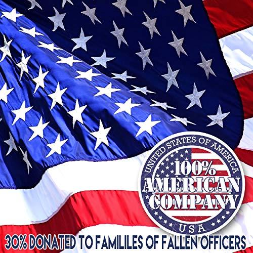 GiftJewelryShop Bronze Retro Style Veterans Day patriotic US soldier flag Photo Flower Stud Earrings #14