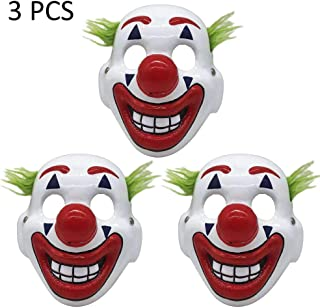 sweet dream Halloween Mask, Joker Mask, Lifelike Halloween Scary Face Props, Horse Head Latex Toy, Fully Wearable Decoration for Adult Male for Halloween Costume