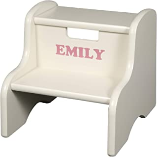 Little Colorado Personalized Linen Step Stool
