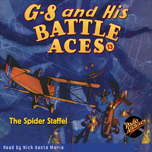 G-8 and His Battle Aces #13, October 1934 audiobook cover art
