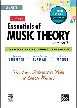 Alfred 00 – 34627 Essentials of Music theory- software- version 3 CD-ROM Student version- completa volume
