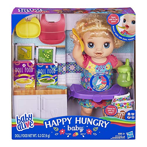 Baby Alive Happy Hungry Baby is one of the best toys for preschool girls