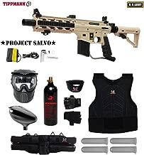 MAddog Tippmann Project Salvo Sierra One Starter Protective CO2 Paintball Gun Package