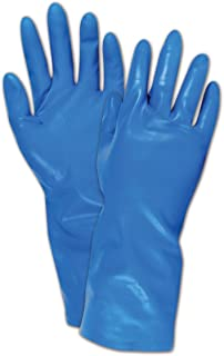 Ansell 113477 Marigold Nitrile Glove, Medium, Blue (Pack of 144)