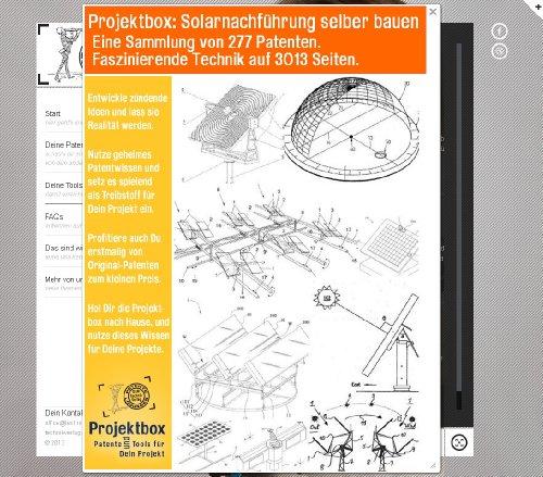 Solarnachführung selber bauen: Deine Projektbox inkl. 277 Original-Patenten bringt Dich mit Spaß ans Ziel!