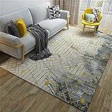 Teppich Vintage - Modern Teppiche für Wohnzimmer, Kurzflor Teppich in/Größe:50x80cm