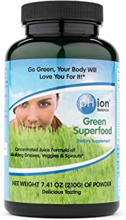 PHion Balance, Green Superfood Powder, 210-Gram