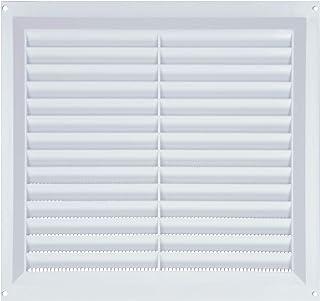 color blanco Ventilador extractor de rejilla de para pared exterior de 150 mm de pl/ástico