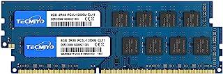 TECMIYO 16GB Kit (2x8GB) DDR3 / DDR3L 1600MHz UDIMM, PC3-12800 DIMM, PC3 / PC3L-12800U Non ECC Unbuffered 1.35V/1.5V CL11 ...