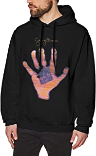LANDONL Mens George Harrison Living in The Material World Hoodies Hoodie Black