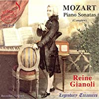 Reine Gianoli - Mozart Piano Sonatas (Complete) (5CD)