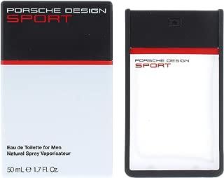 Porsche The Essence Porsche Design Sport Eau De Toilette Spray for Men, 1.7 Ounce