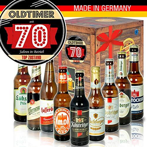 Oldtimer 70 - Bier DDR Geschenk Ideen - für Opa zum Geburtstag