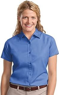 Port Authority Women's Short Sleeve Open Collar Shirt