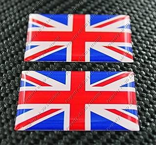 UNITED KINGDOM UNION JACK FLAG Triumph Sticker Pair