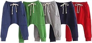 LOSORN ZPY Baby Boys Girls Pants Kid Toddler Cotton Hiphop Harem Pants Infant Sport Jogger