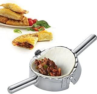 Best Utensils Stainless Steel Ravioli Mould Pierogi Dumpling Maker Wrapper Pastry Dough Cutter Kitchen Accessories (M: 4 inch)