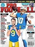 PRO FOOTBALL MAGAZINE - 2021 NFL PREVIEW - MATTHEW STAFFORD AND JUSTIN HERBERT