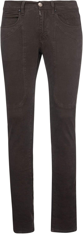 JECKERSON Men's 37PCJUPA77ST221317014 Brown Cotton Pants